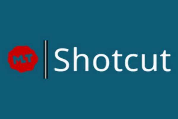 Shotcut software per editare video