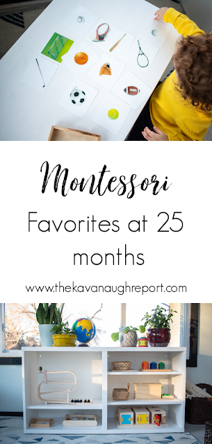 Montessori friendly toy favorites at 25 months - Montessori toddler toy choices