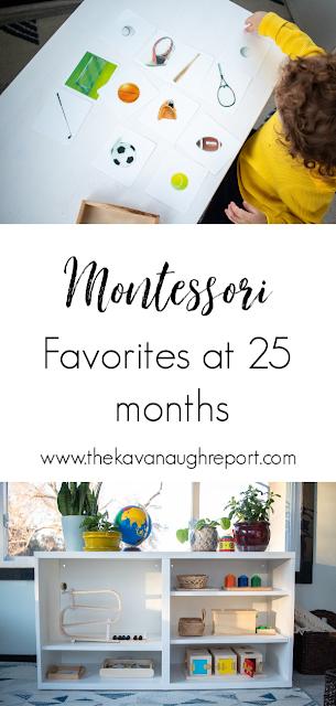 Montessori friendly toy favorites at 25 months - Montessori toddler toy choices