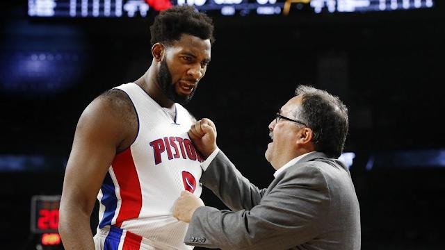 Stan Van Gundy et Drummond | PistonsFR,actualité des Detroit Pistons en France