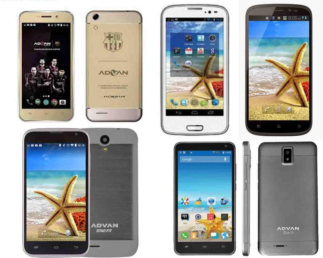 Daftar Harga HP Advan Android Terbaru