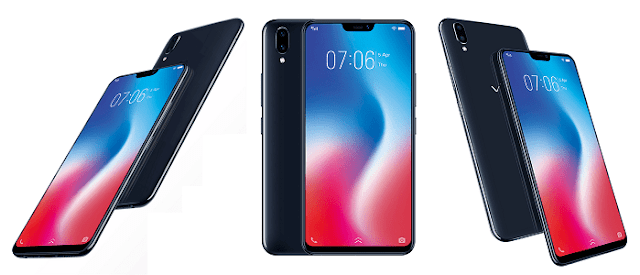 Vivo V9 6.3-inch 19:9 Super Full Screen Display