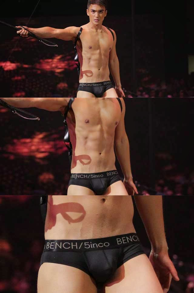 dominic roque bulge in bench the naked truth