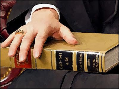 judicial portrait, judges portrait, painting