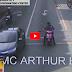 Watch: Driver na tumatakas umano mula sa nanitang enforcer, kritikal nang barilin ng pulis