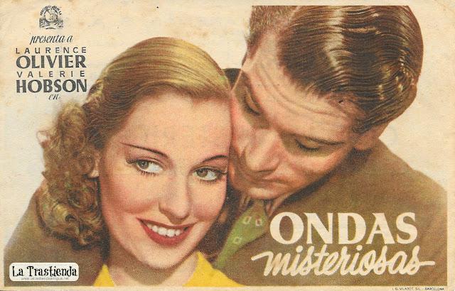 Ondas Misteriosas - Programa de Cine - Laurence Olivier - Valerie Hobson