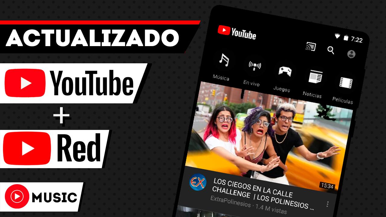 IMPRESIONANTE YouTube Black + YouTube Red En Cualquier Android Sin