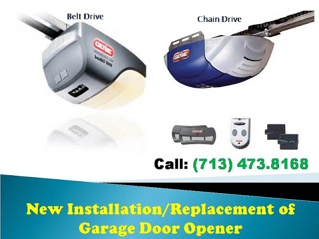 Three Types Of Residential Garage Door Openers Road