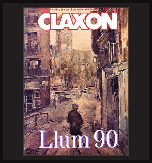 CLAXON-REVISTA-PORTADA-PINTURA-CUADROS-ARTE-PORTADAS-REVISTAS-ERNEST DESCALS- LA LLUM-MANRESA-