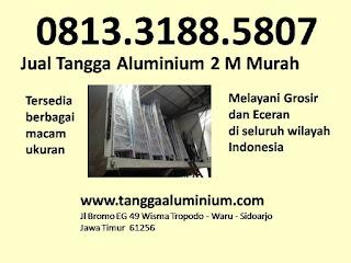 Jual Tangga Aluminium 2m Murah