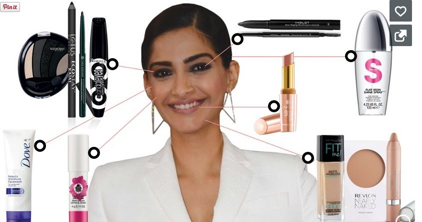 bbe720a96509 Products You Need To Get Sonam Kapoor s Nude Lips and Smokey Eyes Look -  Shopping