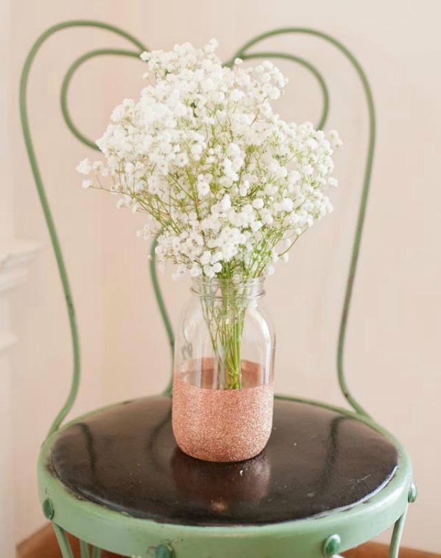 Faça você mesma lindos vasos de flores decorados - DIY