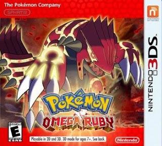 Pokémon Rubí Omega, 3DS, Español, Mega, Mediafire