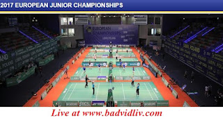 European Junior Championships 2017 live streaming