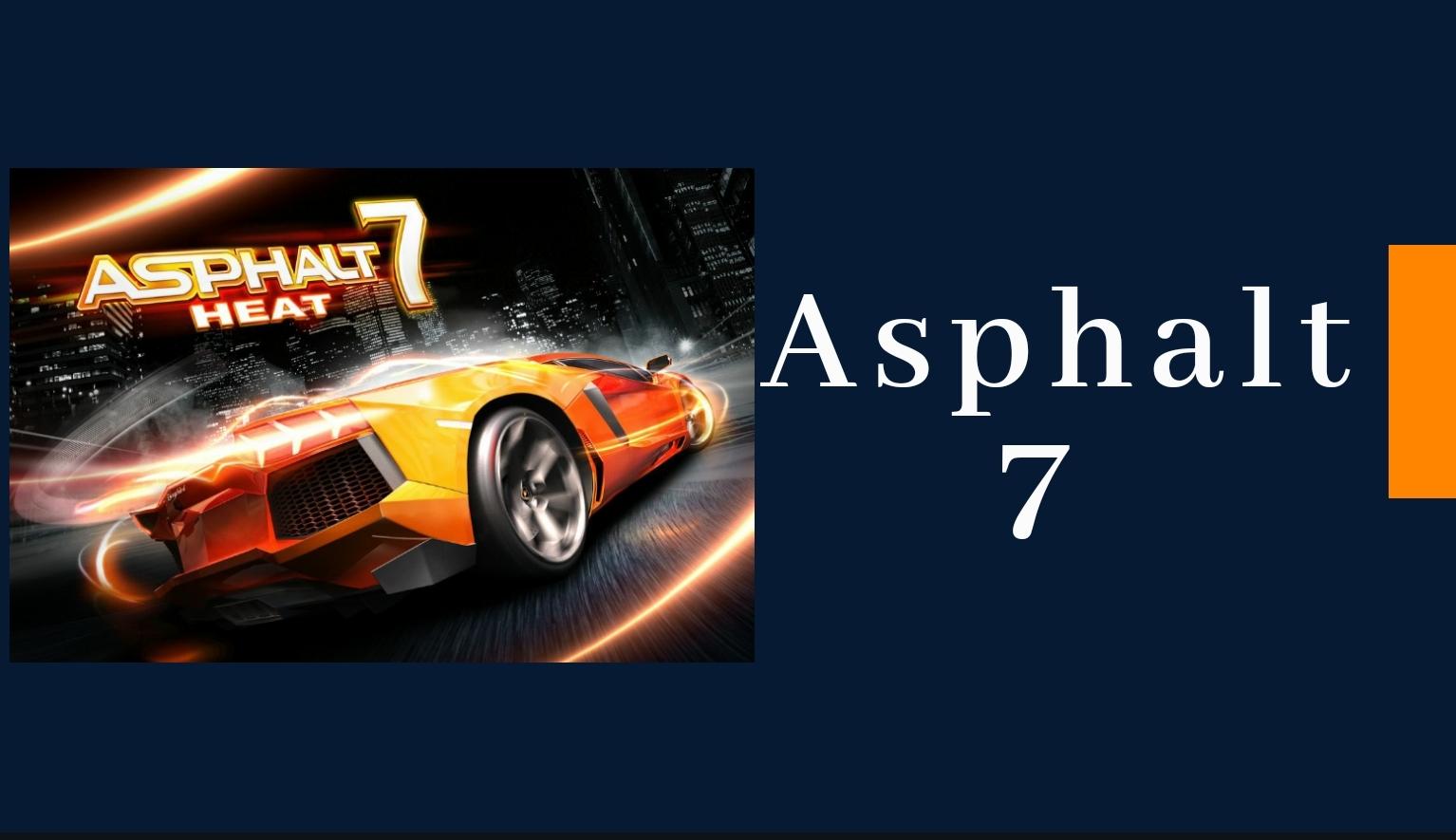 asphalt 7 mod apk