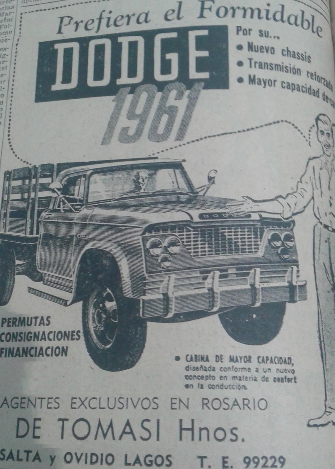 Camión Argentino: Dodge D/DP-400