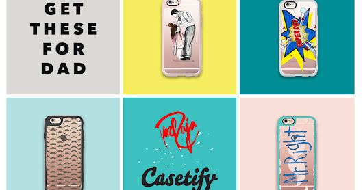 Y A Z  R A J A  D E S I G N S: Casetify | FATHER'S DAY COLLECTION