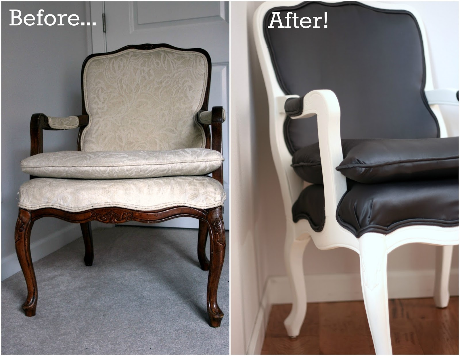 Refurbished Chairs The Finished Product My Refurbished Louis Chair Part 3