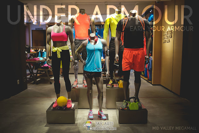 Under Armour new brand outlet in Mid Valley Megamall