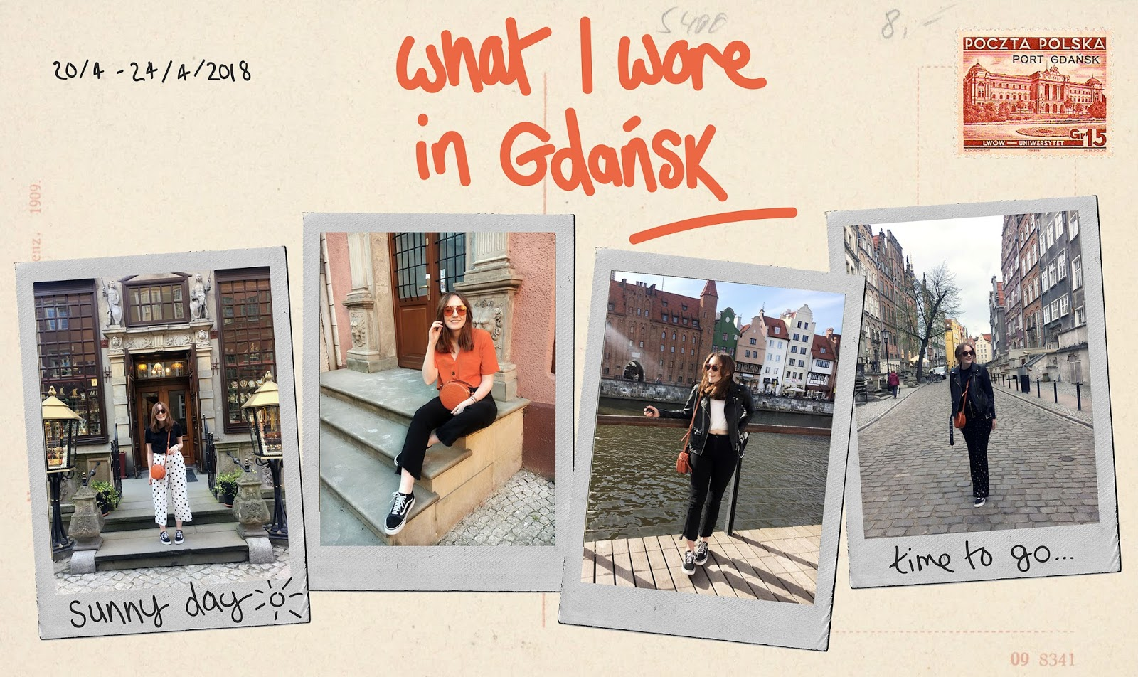what I wore in Gdansk by fashion and travel blogger allie davies
