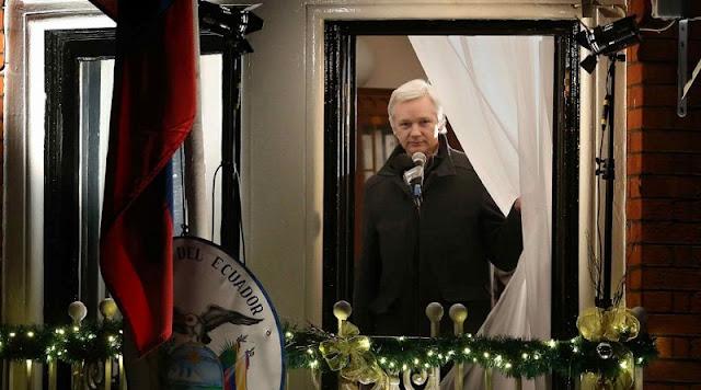 Washington califica de 'prioridad' la detención de Assange