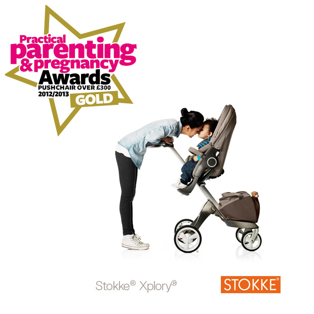 Stokke Xplory wins Best Pushchair award