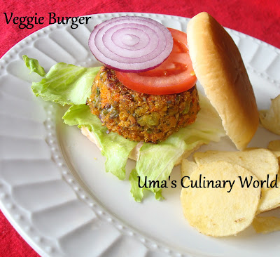 Vegetable Burger