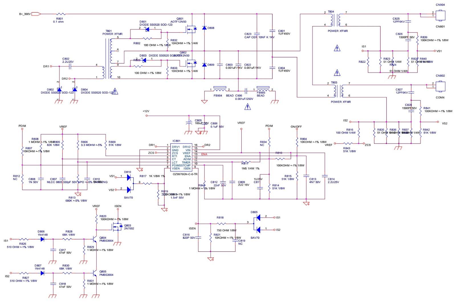 715g3829p02 Lcd Tv Power Supply Circuit Diagram Insignia Ns Jacobsladderhvsupply Powersupplycircuit Back Light Inverter