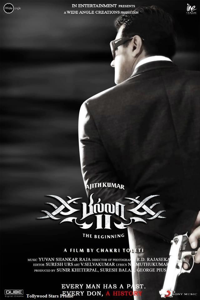 Ajiths Billa 2 Movie Latest HQ Wallpapers   Billa 2 Movie