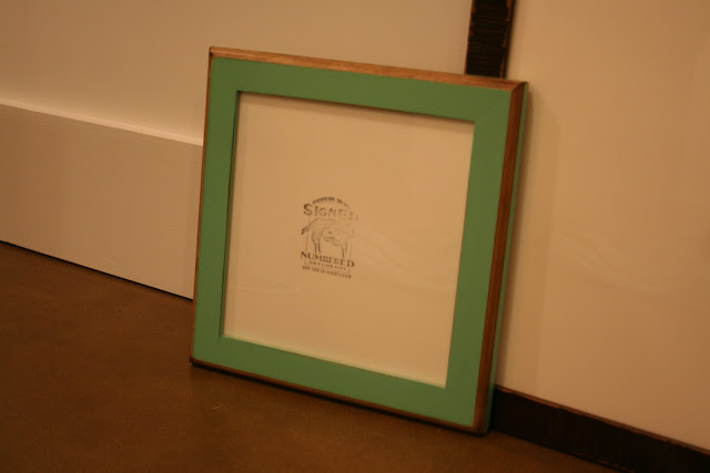 Signed & Numbered 2-Tone Frame | The Lowcountry Lady
