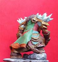 orme magiche action figure sciamano tauren world of warcraft modellino stregone modellini videogames da colorare artigianato italiano