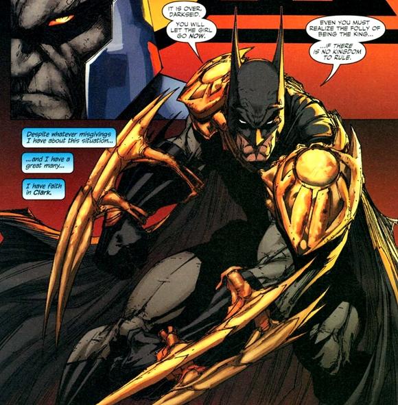 Batman se ha enfrentado a Darkseid
