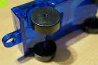 Räder: Playbees 100 Teile Magnetische Bausteine Set für 2D und 3D Form Konstruktionen, Regenbogenfarben Magnetspielzeug, Baukasten Magnetspiel, Magnetbausteine