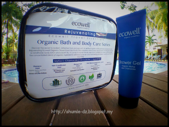 Ecowell - Travel Essentials Organic Bath and Body Care series : SHOWER GEL