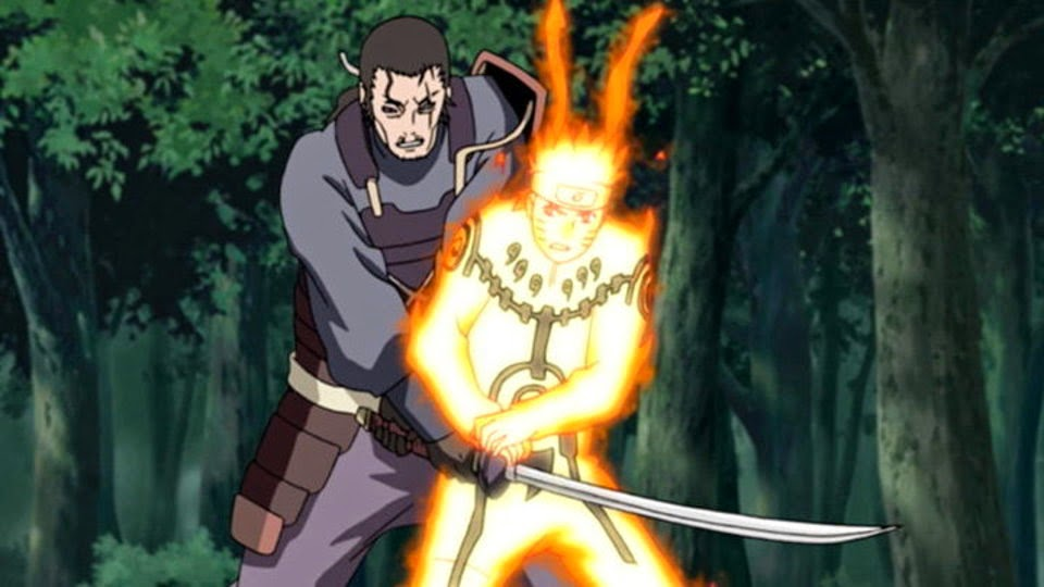 Tatewaki vs Naruto