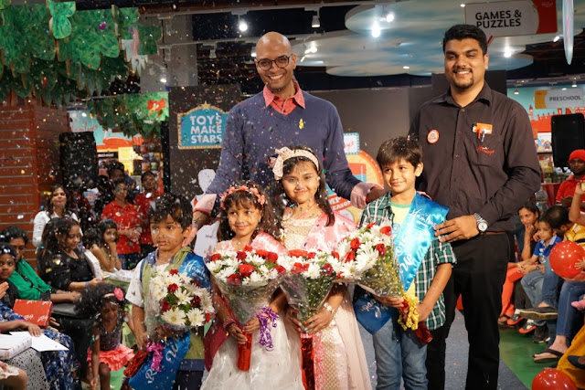 'Hamleys Fashion Show' for kids at LFW Winter/ Festive 2016