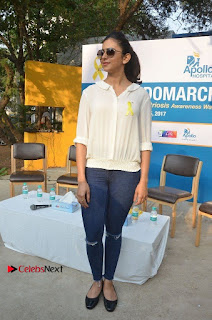 Actress Rakul Preet Singh at Endometriosis Awareness Walk at Apollo Cradle  0093.jpg