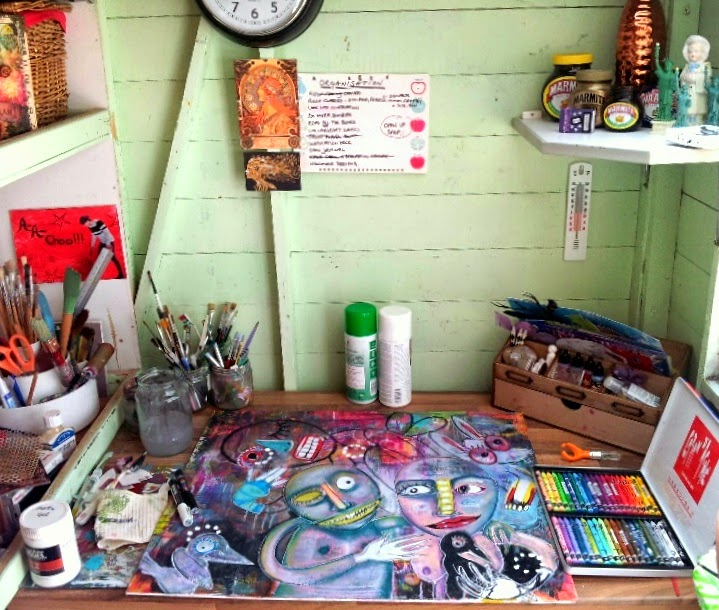 Carmen Wing - What's On Your Workdesk Wednesday, WOYWW