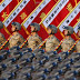 China's massive military parade