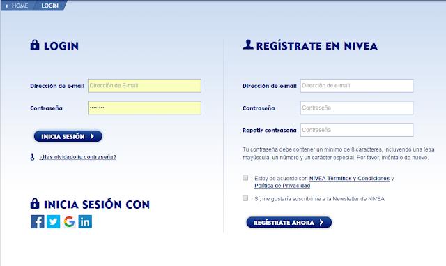 registro Nivea