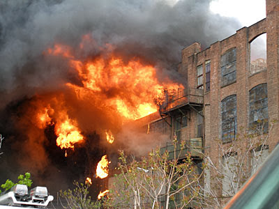Greenpoint Terminal Market Fire