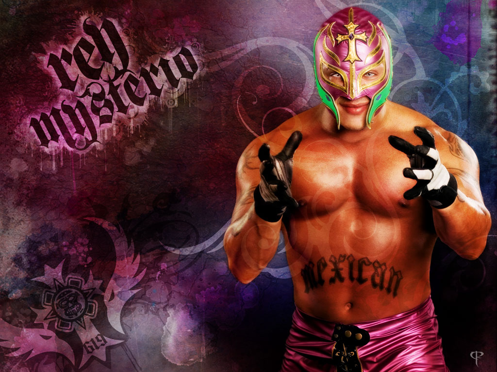 Lucha Libre Rey Misterio Cool Sports Players Rey Mysterio Wallpaper