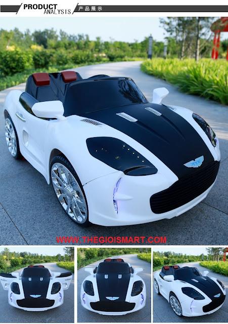 Xe ô tô điện trẻ em Aston Martin 519