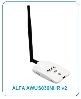driver wifi alfa awus036h