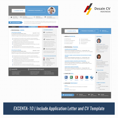 Template CV Microsoft Word