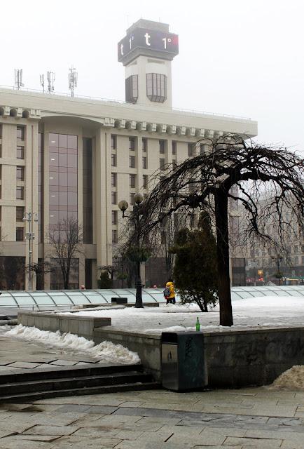 Часы на Доме профсоюзов после реконструкции