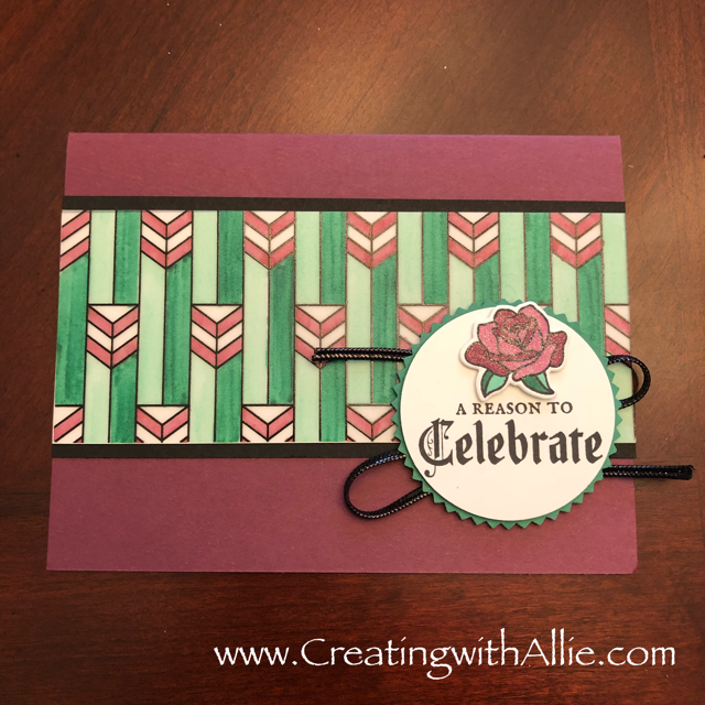 Check out blog post with instructions on how to make this card with TIPS and Tricks for making handmade cards using Stampin Up's Graceful Glass Suite!  You will love how quick and easy this is to make!  www.creatingwithallie.com #stampinup #alejandragomez #creatingwithallie #videotutorial #cardmaking #papercrafts #handmadegreetingcards #fun #creativity #makeacard #sendacard #stampingisfun #sharewhatyoulove #thankyoucards #brandnewproducts #sneakpeekproducts