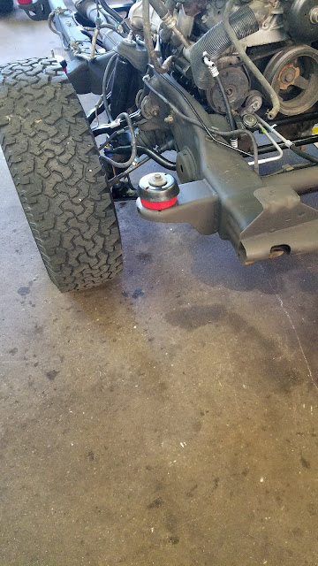 Installed Bushings