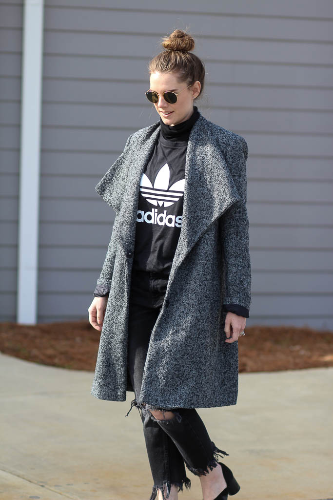 Layer a tee for winter