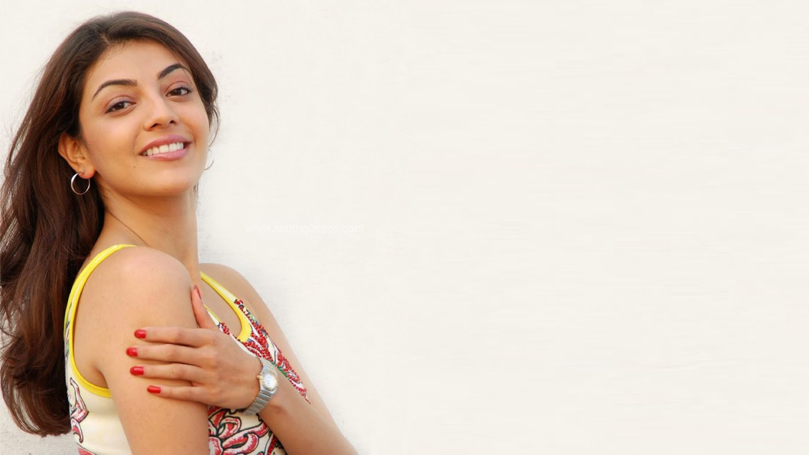Kajal Aggarwal - A South Indian Actress Hot pics in Sexy dress